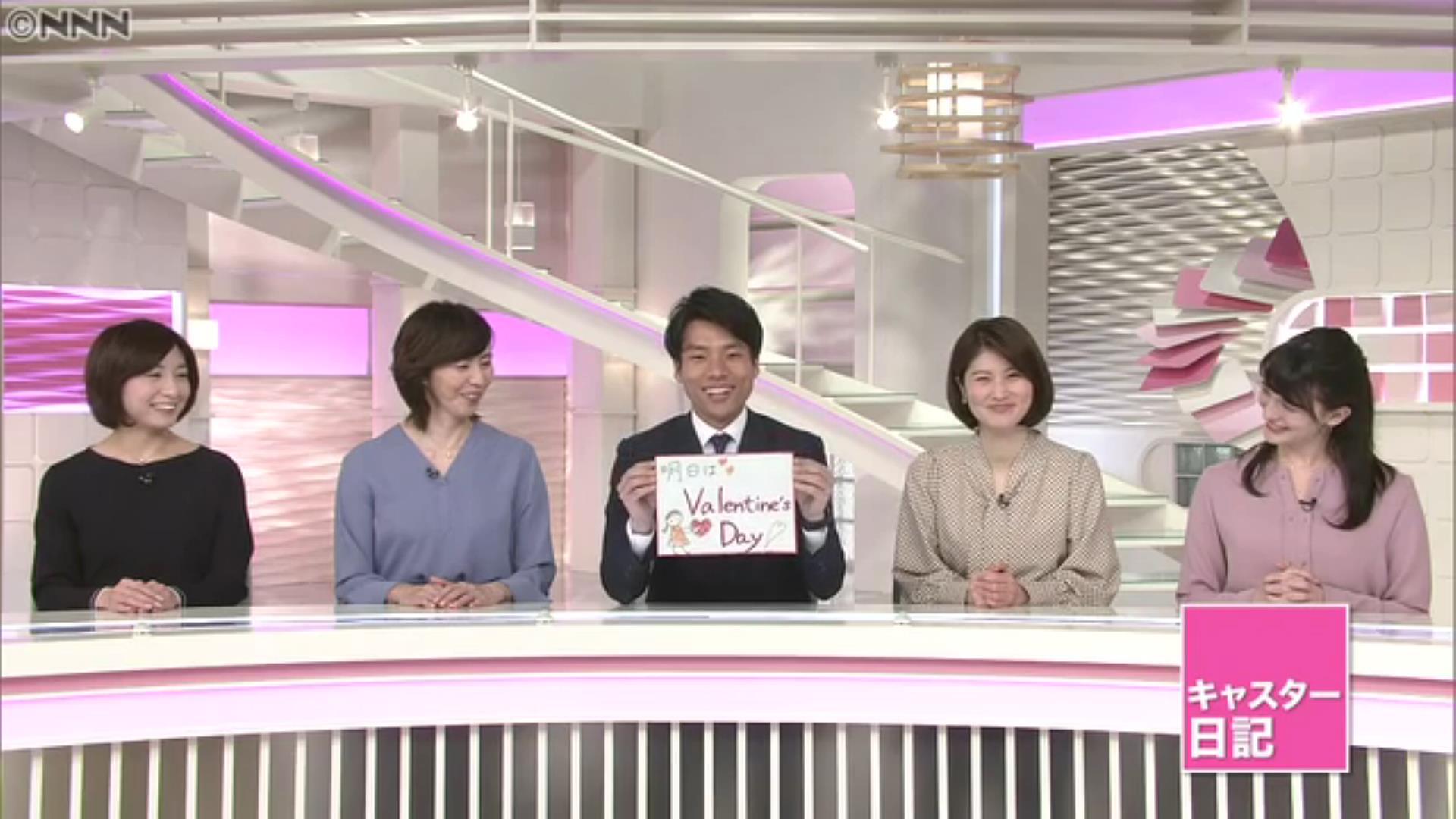ニュース キャスター 日テレ 24